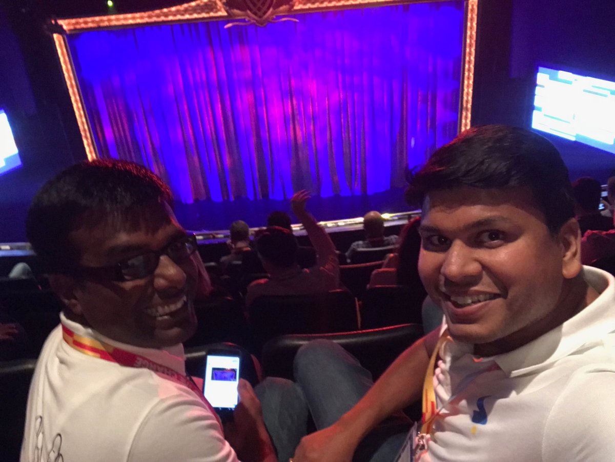 Siddhartha_83: Waiting for curtains to go up for the keynote session... #MagentoImagine ... @iZootoTeam @vivekk https://t.co/dRcsawZ7Tx