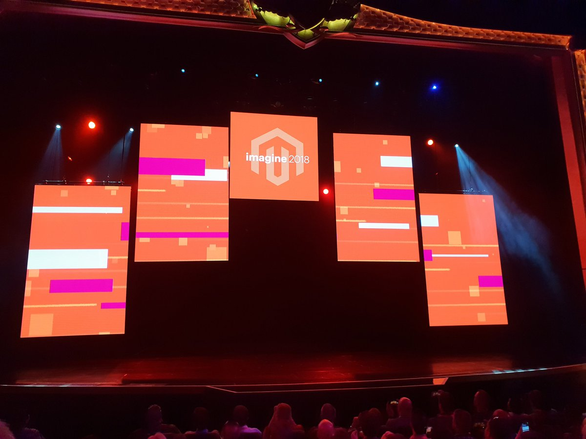 flagbit: Again @magento kicking it. #MagentoImagine https://t.co/IqXsub1dMK