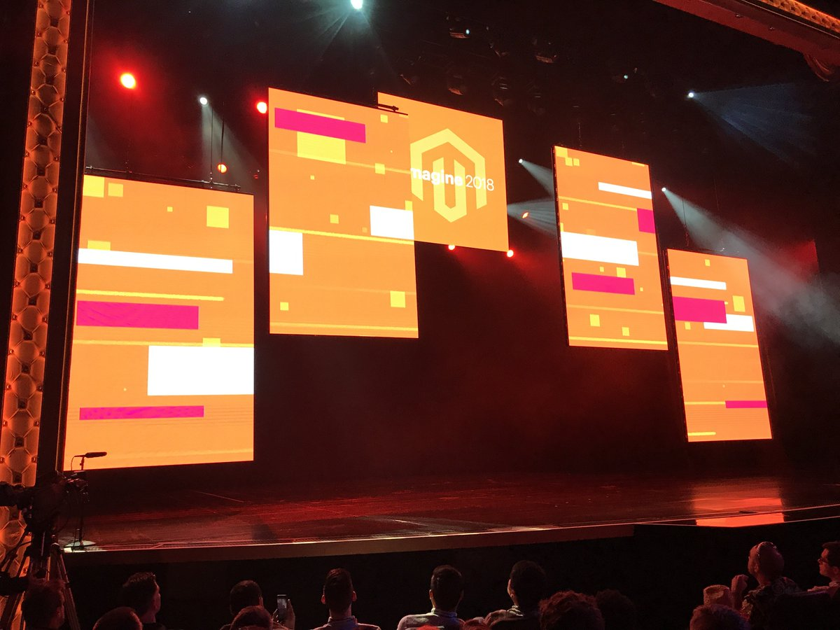 john_bruno: Things are getting under way here at the #MagentoImagine keynote https://t.co/9ShRoOAmFn
