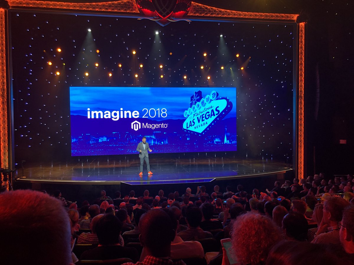 WebShopApps: The great @philwinkle - go crush it lad!! #MagentoImagine https://t.co/P0nPZ81Vul