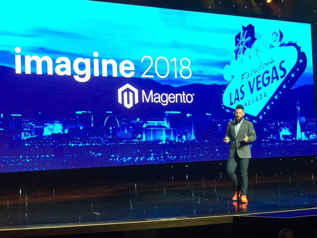 gsautereau: Our host @philwinkle #magentoimagine https://t.co/SIUMpC6pSr
