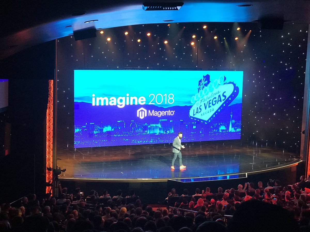 tomik99: #MagentoImagine General Session 2018 started by @philwinkle https://t.co/ltoe01snFU