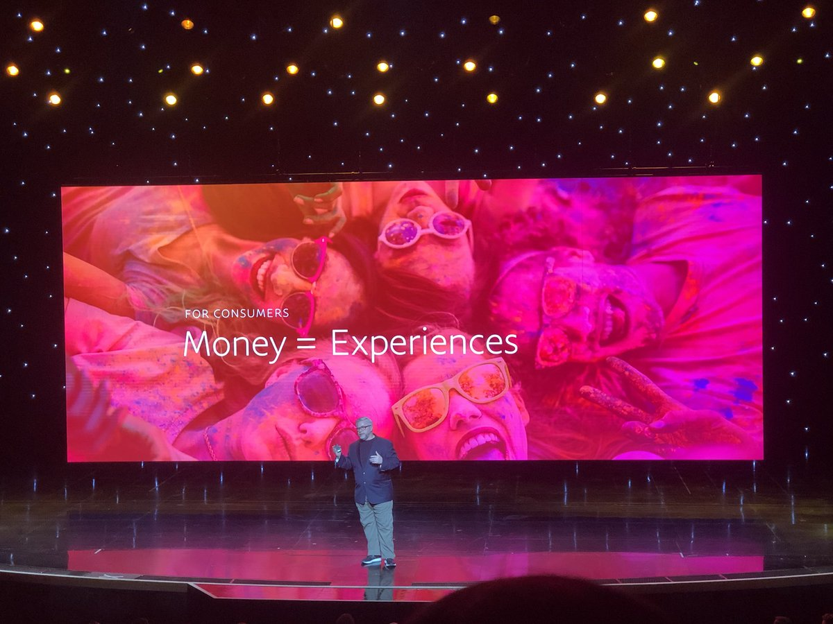 danielalbro: Understand it. People exchange money for life experiences. #MagentoImagine #PayPal https://t.co/bsX2QG0iww