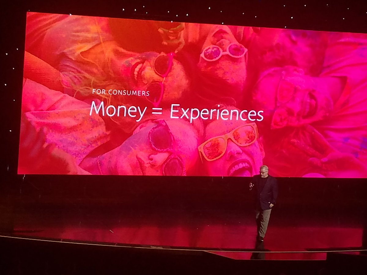 MeaganWhite_: Commerce is about experiences, not just transactions. - @PayPal's @billwscott at #MagentoImagine https://t.co/jaVzSW9Iqm