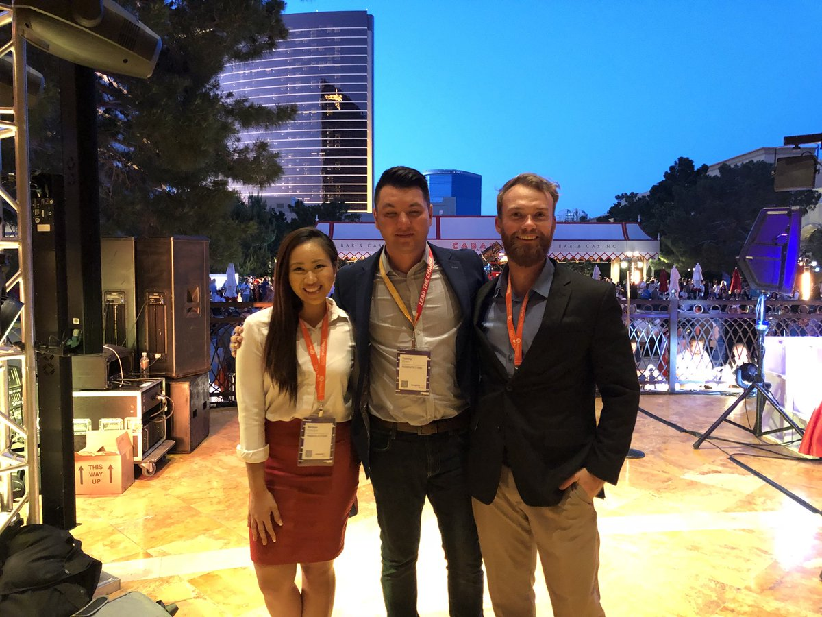 tommy_bliven: Opening night networking event with the team at #MagentoImagine '18 https://t.co/pLqLy1E06Z