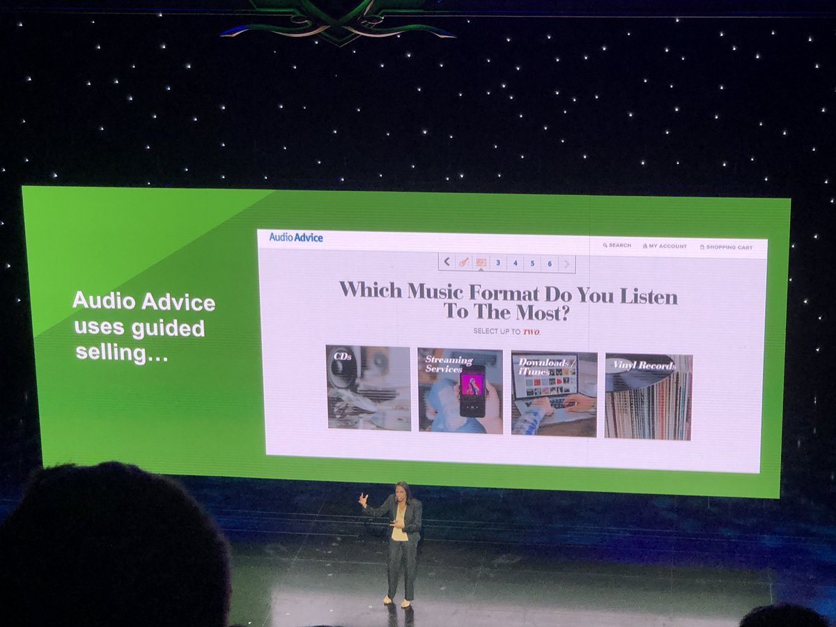 mrloo: One of my clients @AudioAdvice featured in the #MagentoImagine keynote! Love getting to work with this company. https://t.co/IhDT0DZuRi