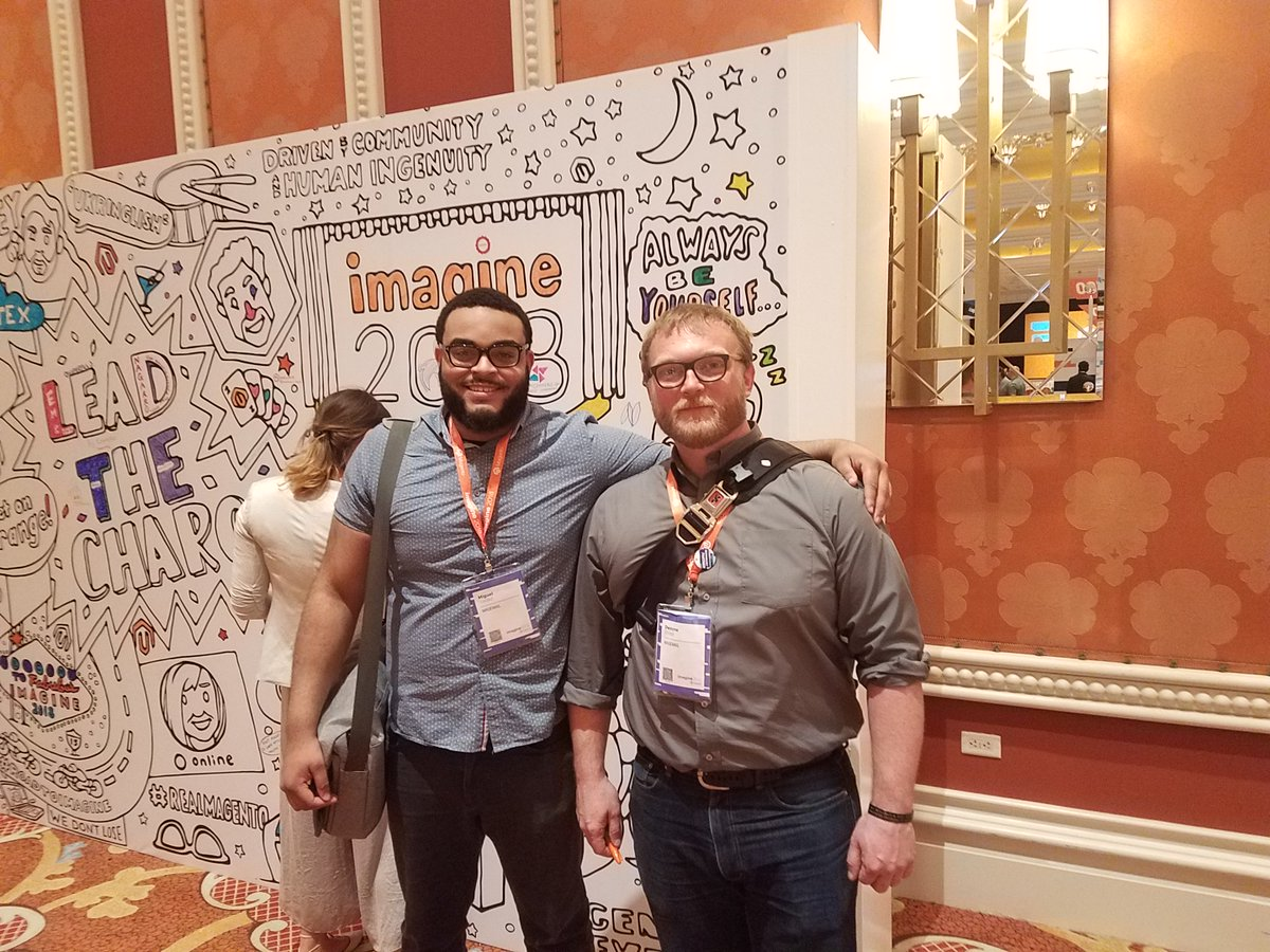 getmagemail: The MageMail sales team making their mark at #MagentoImagine https://t.co/MMJhwEfSnf