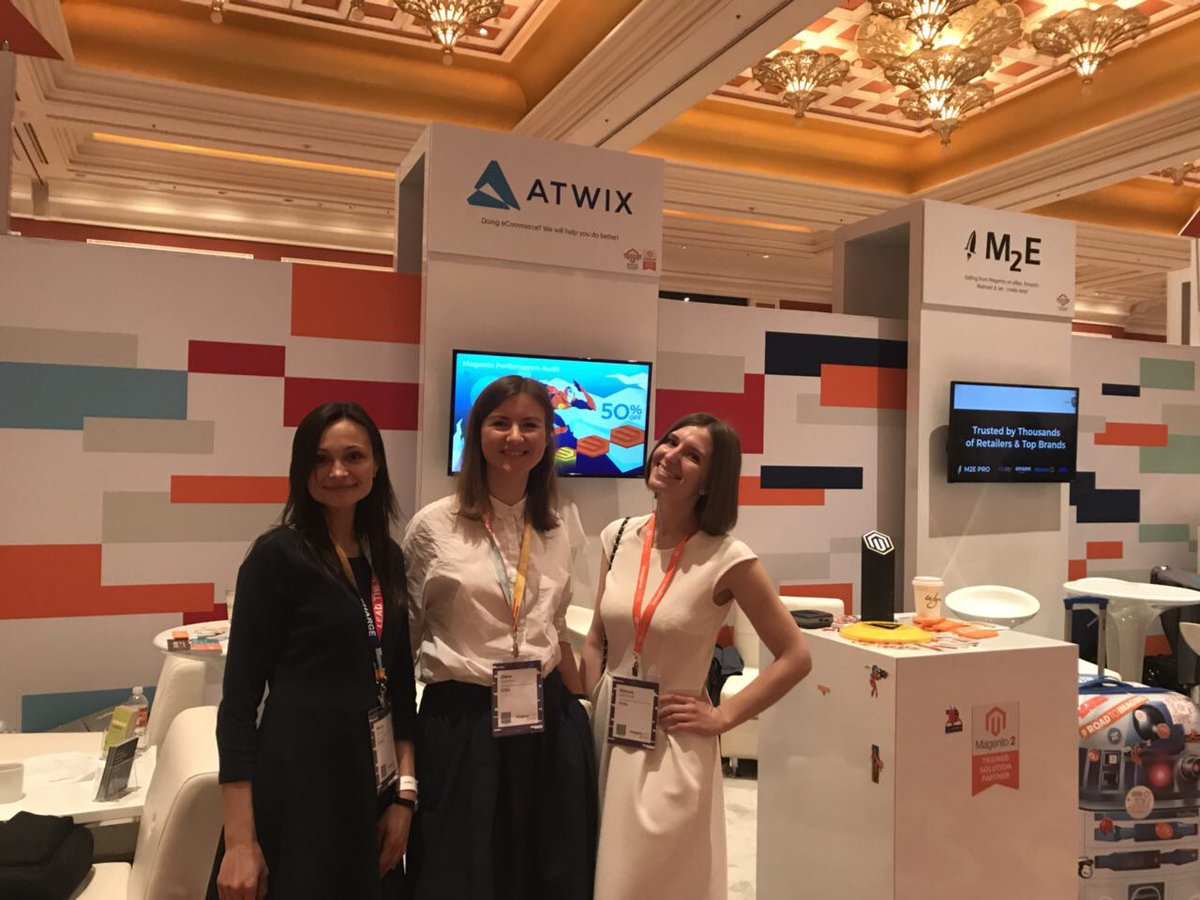 tory_bum: Atwix ladies at Magento Imagine #MagentoImagine #Atwix https://t.co/1jNR05dyT2