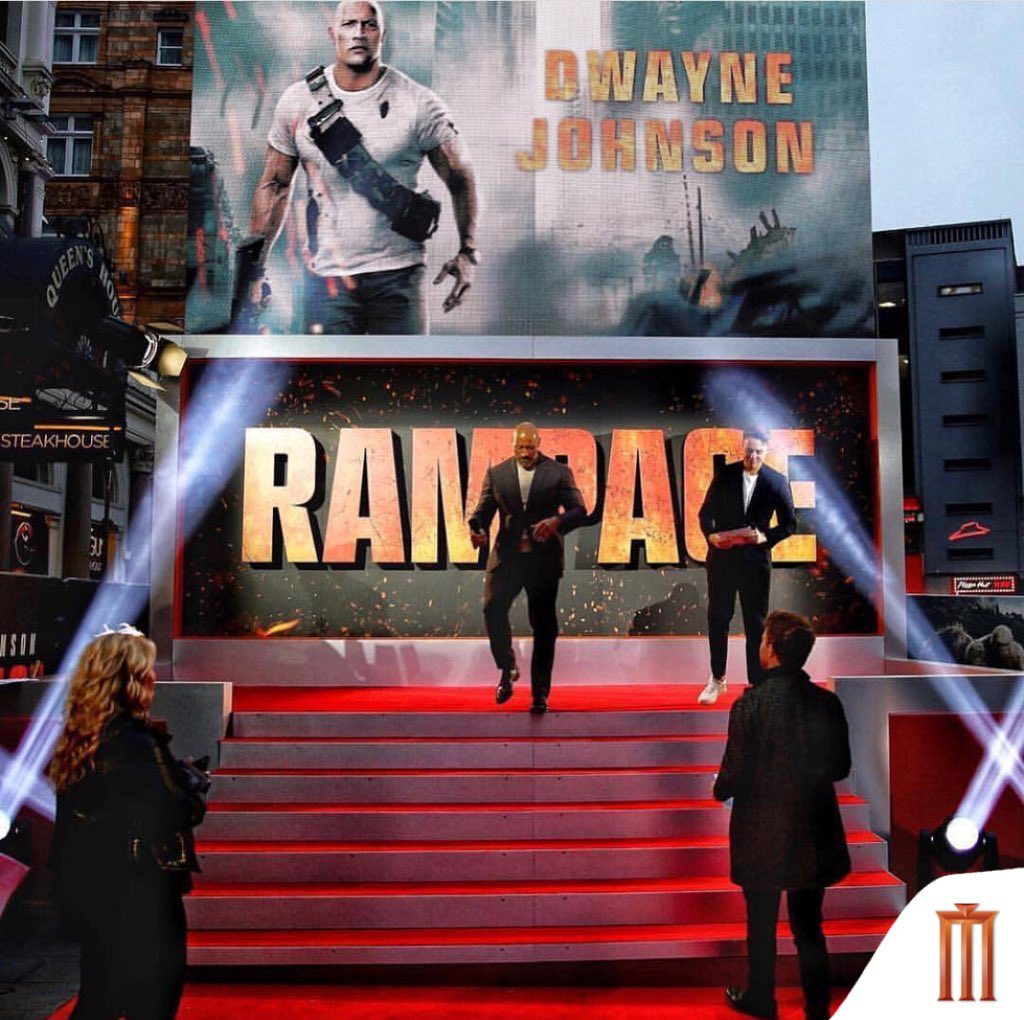 #RampageMovie