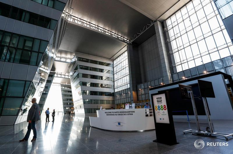 A tour of NATO's new gleaming headquarters via @ReutersTV
