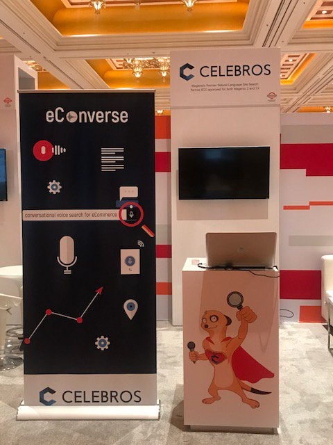 celebrossearch: We are so excited to introduce eConverse, our new NLP base conversation search . #MagentoImagine https://t.co/BqQPGdeskf