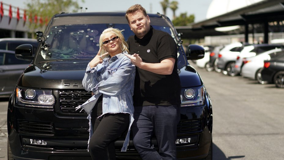 Christina Aguilera Crushes Car christina aguilera