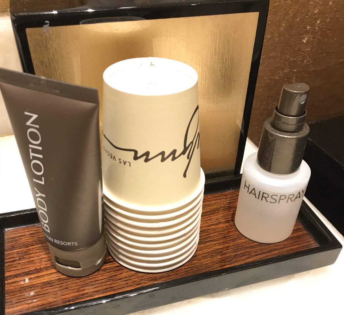 jdorf: In honor of @philwinkle the Wynn has hairspray in the bathrooms… #MagentoImagine https://t.co/0fc7WIJVm9