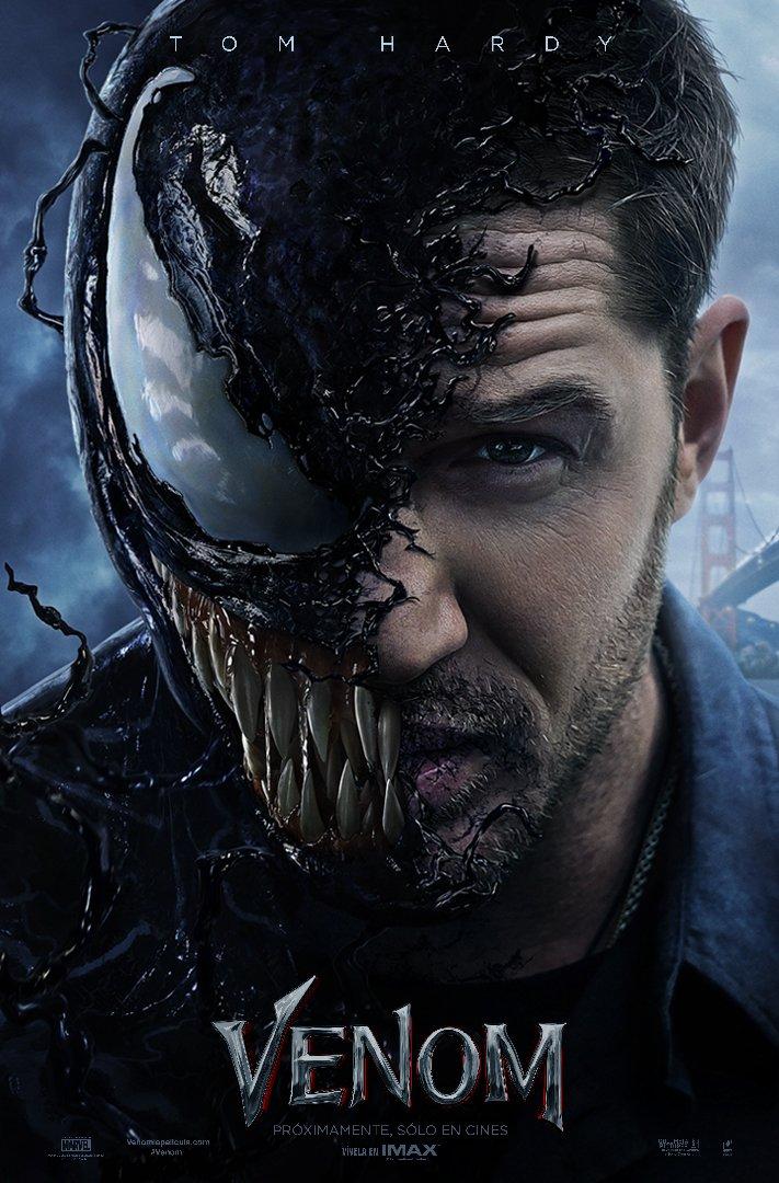 El nuevo tráiler de Venom reve venom