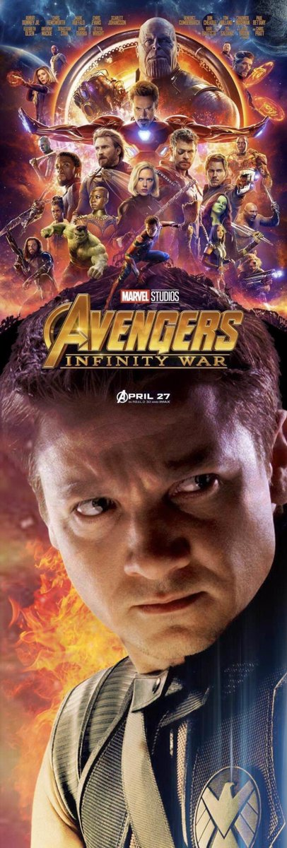 #AvengersInfinityWars