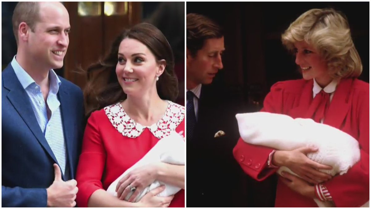 Kate Middleton dio a luz a un  kate middleton