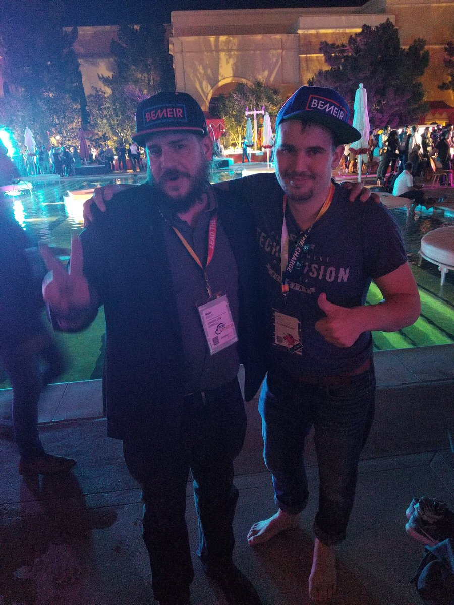 maierb: @LarsRoettig wearing @bemeirllc on #MagentoHatMonday at #MagentoImagine !!! @magento #MagentoImagine2018 https://t.co/vt7L6y8dqr