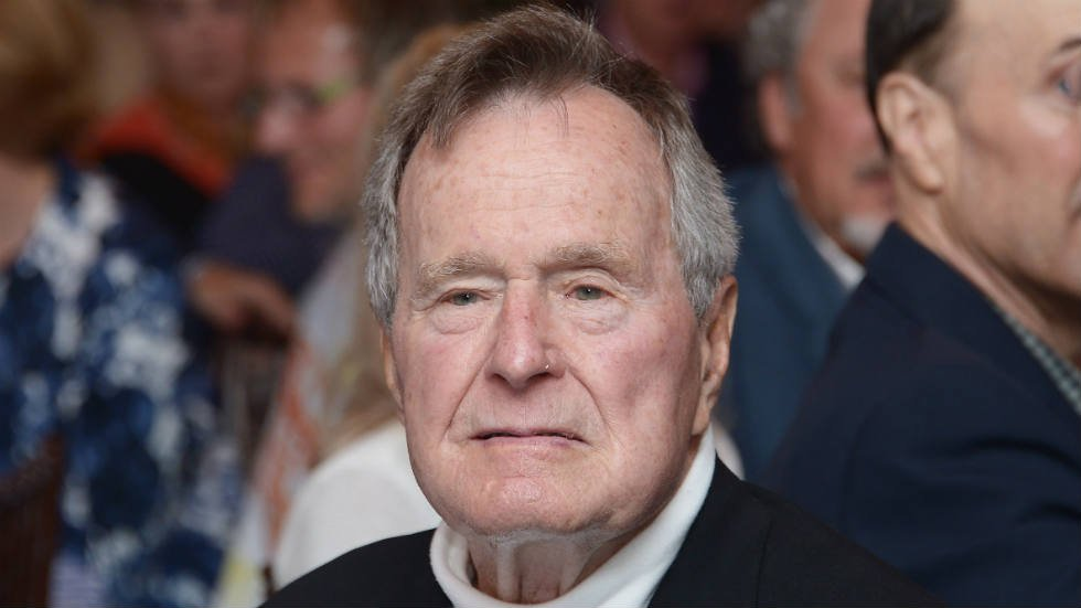 George HW Bush hospitalized in intensive care https://t.co/JC7dzomcSy https://t.co/4R2SyyWAn1