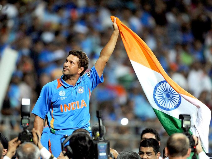 HAPPY BIRTHDAY TO THE ONE AND ONLY MASTER BLASTER & GOD OF CRICKET SACHIN TENDULKAR SIR