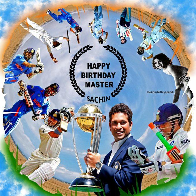 Happy birthday Sir Sachin Tendulkar