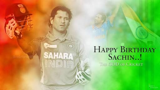 happy birthday to dear Sachin tendulkar .I pray for your long and healthy life .