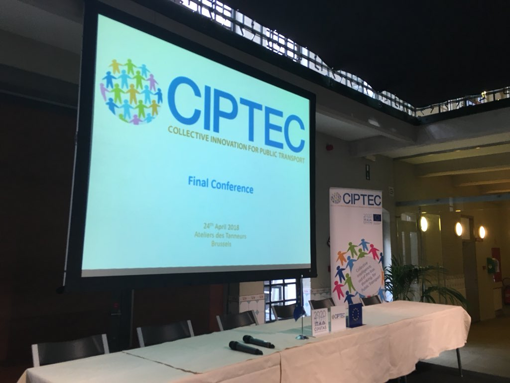 test Twitter Media - RT @ciptec: Getting ready for our final conference. #BECIPTEC #publictransport #innovation https://t.co/ZTZBMk95on