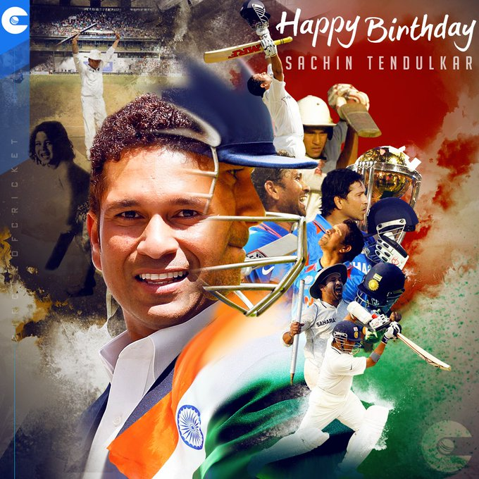Happy birthday Sachin Tendulkar
