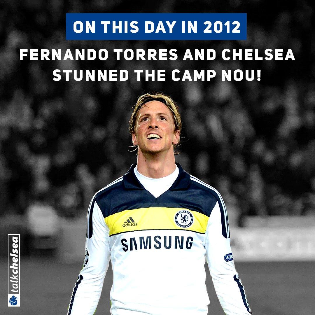 RT @talkchelsea: 6 years ago today Fernando Torres stunned the Camp Nou! 🙌🙌🙌 #CFC https://t.co/DrE55LzbJ2