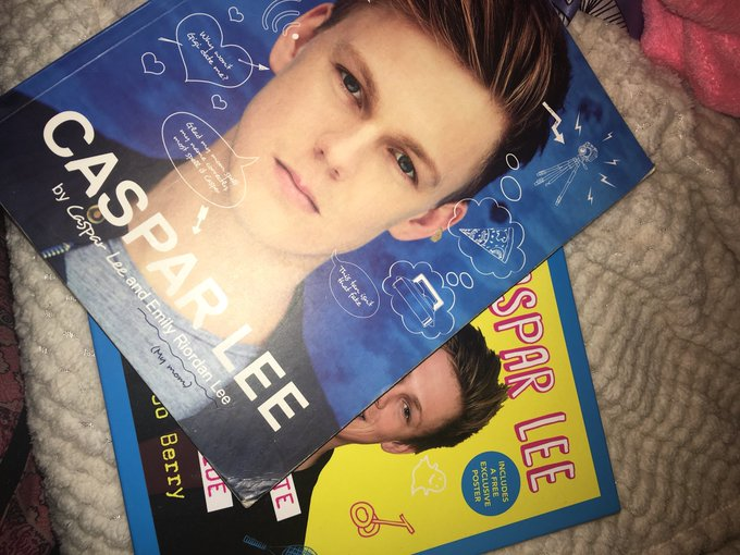 Happy birthday Caspar, I love you! (And your book)