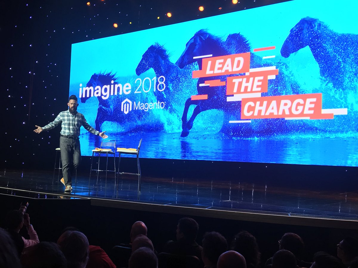 brentwpeterson: Magento is leading the charge #MagentoImagine https://t.co/gwiYjZaPNc