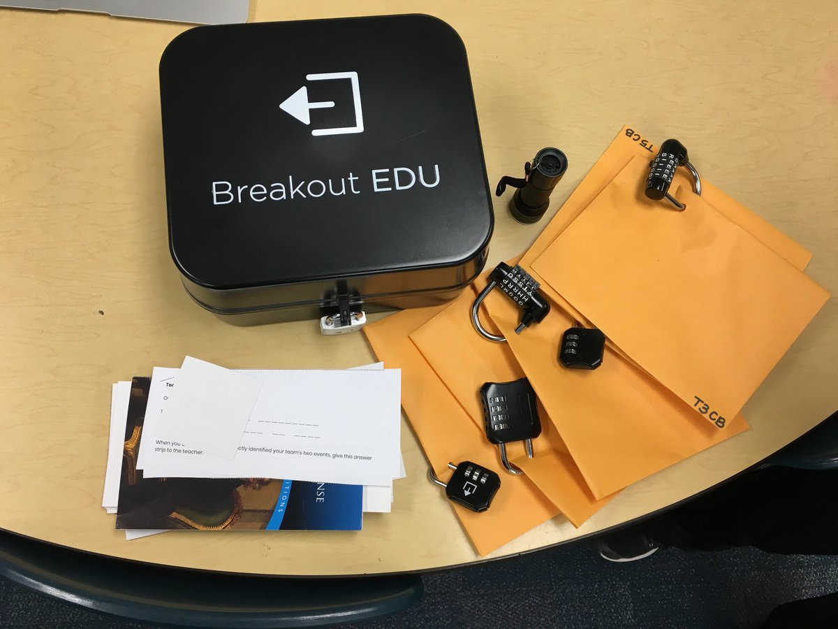 test Twitter Media - So excited for our Revolutionary War breakout edu today with @AnnaDavisTIS ! #d30learns https://t.co/e9qCSzPje9