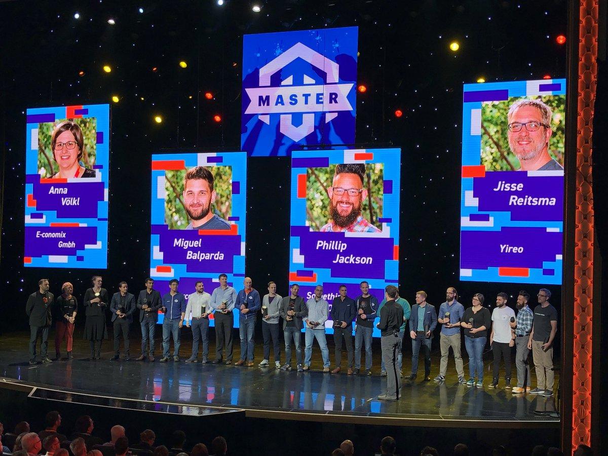 MaximBaybakov: Magento Masters 2018! #MagentoImagine Congratulations guys! https://t.co/y4h8hUaph4