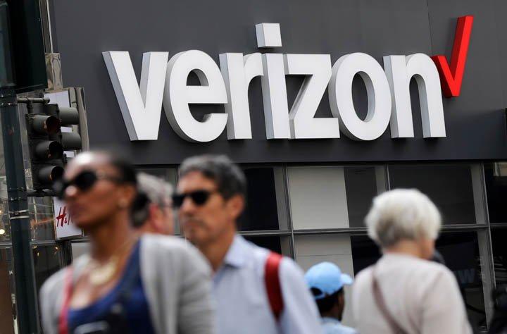 @BroadcastImagem: Verizon tem alta no lucro líquido no 1º TRI, a US$ 4,7 bi, e supera previsão. Bebeto Matthews/AP