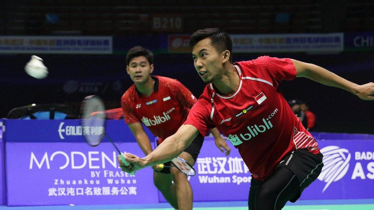 Kejuaraan Asia: 2 Ganda Putra Indonesia Lolos ke Babak Utama https://t.co/IfAXxPSuGJ https://t.co/TRMG0GblIU