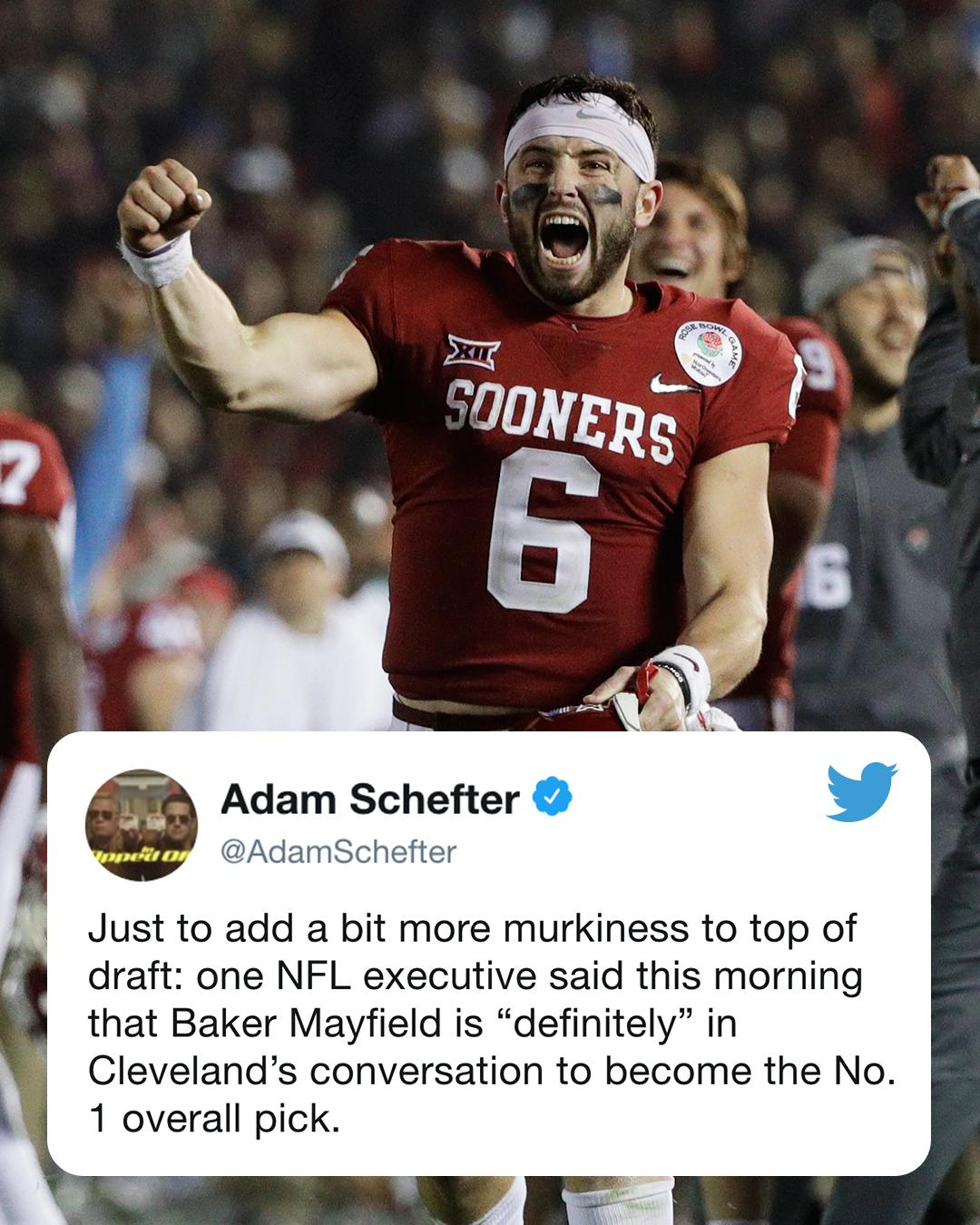 Baker ➡️ Browns? �� https://t.co/gDfUR2kMRP