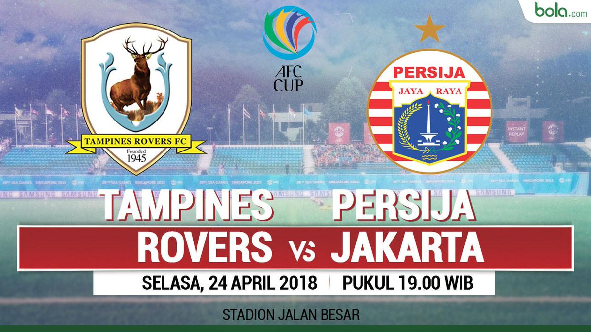 AFC Cup 2018: Hajar Tampines, Persija Juara Grup H https://t.co/wQKFjNPgrl https://t.co/dZgvcNrQHz