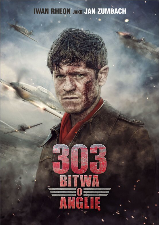 """New poster for """"303 Battle of Britain"""" formally """"Hurricane"""" #303 #JanZumbach ???????? https://t.co/MY5as3VzmK"""