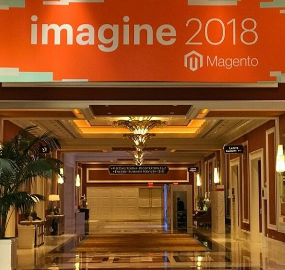 Sam_ecommerce: Ready for Day 2.n#MagentoImagine2018 #MagentoImagine #Magento https://t.co/ua7YxujCwF