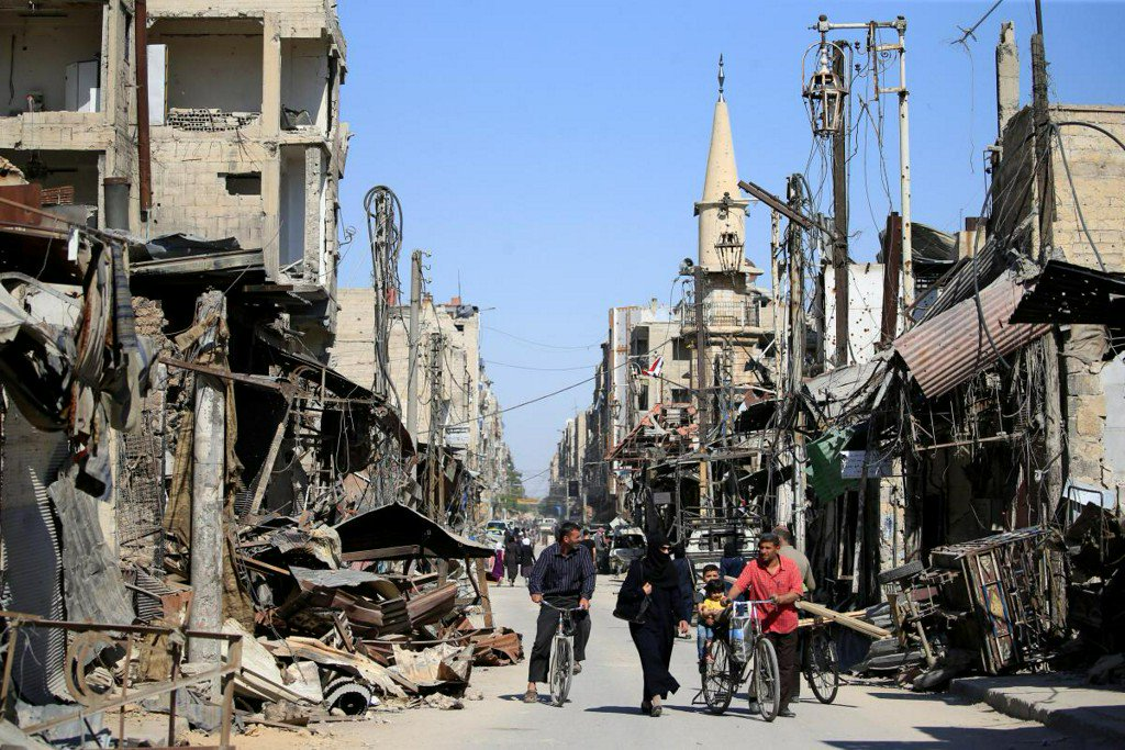 Syrian government plans to retake north Homs from rebels next: minister