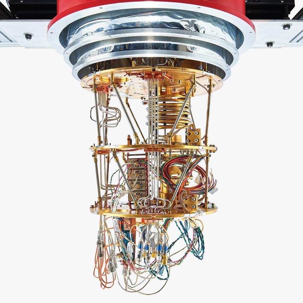 In photos: A rare glimpse inside the heart of a quantum computer https://t.co/RoCuhfihPw https://t.co/KJTwz9Ujji