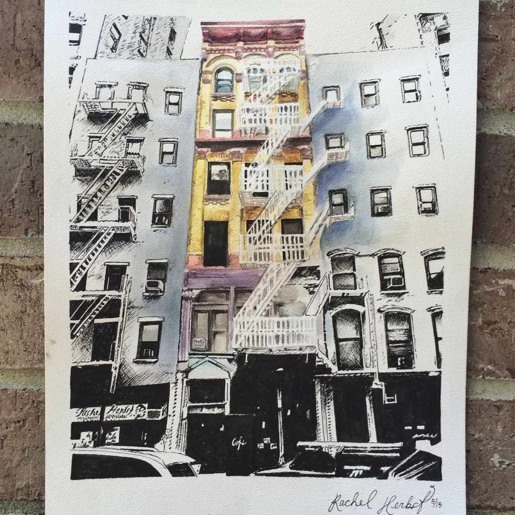Cool watercolor of New York City.. https://t.co/4wXf6jDeDP #NYC https://t.co/UYE776HF7V