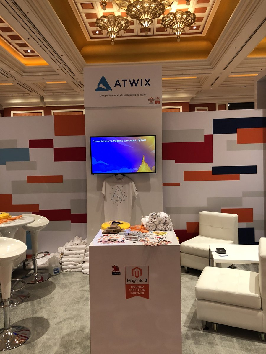 lunkov_alex: Ready for day two of #MagentoImagine? Come and get some cool swag at @atwixcom booth! https://t.co/JHhOXqhFPM