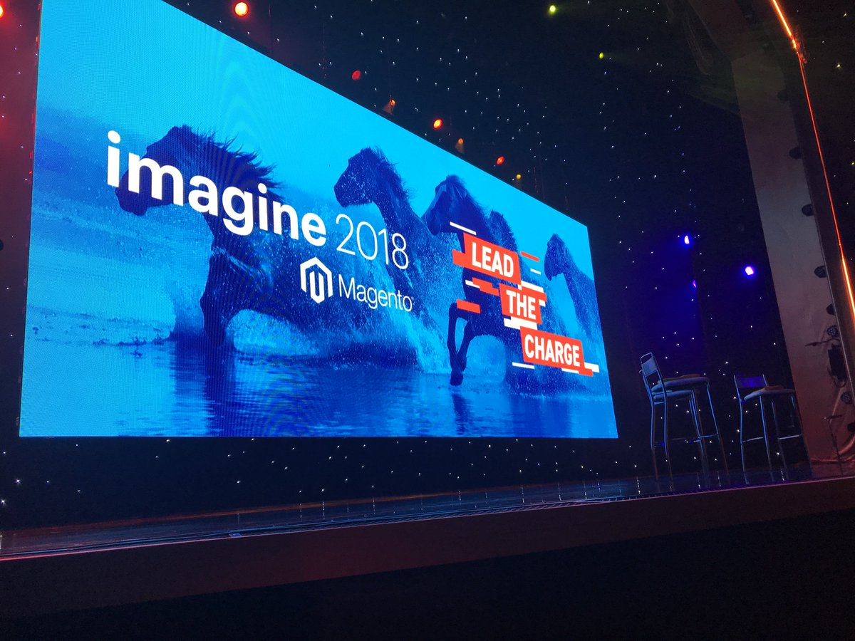 joshdw1: Day 2 of #MagentoImagine is off to a great start, excited for the general session! https://t.co/mfO7ycZ2sP