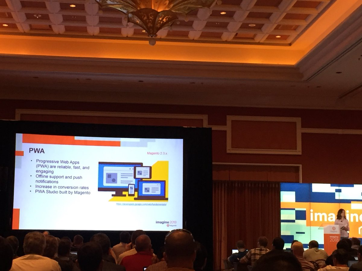 vrann: News on 2.3 from @buskamuza #MagentoImagine https://t.co/gJ28afS7Dw