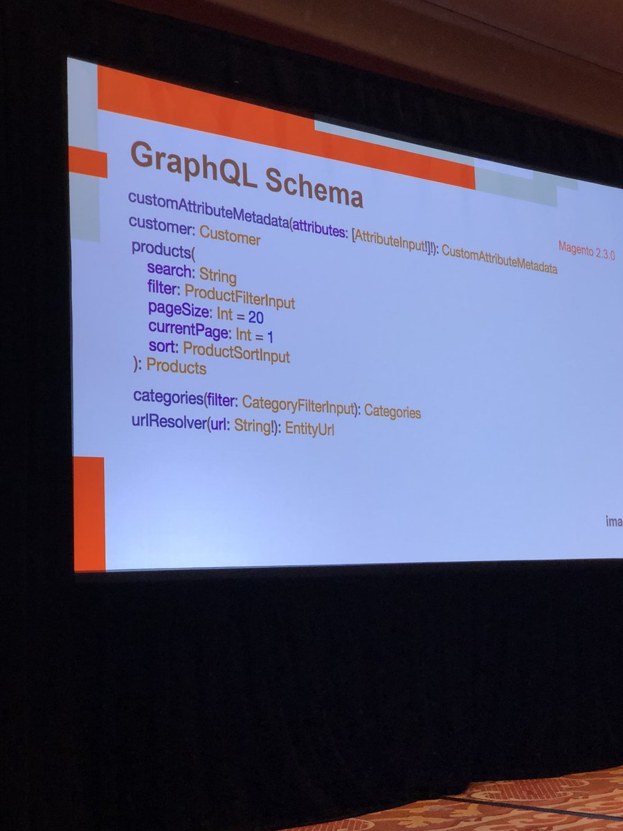 WebShopApps: GraphQL supports starts in #Magento 2.3 #MagentoImagine https://t.co/KAPMUIm9hW