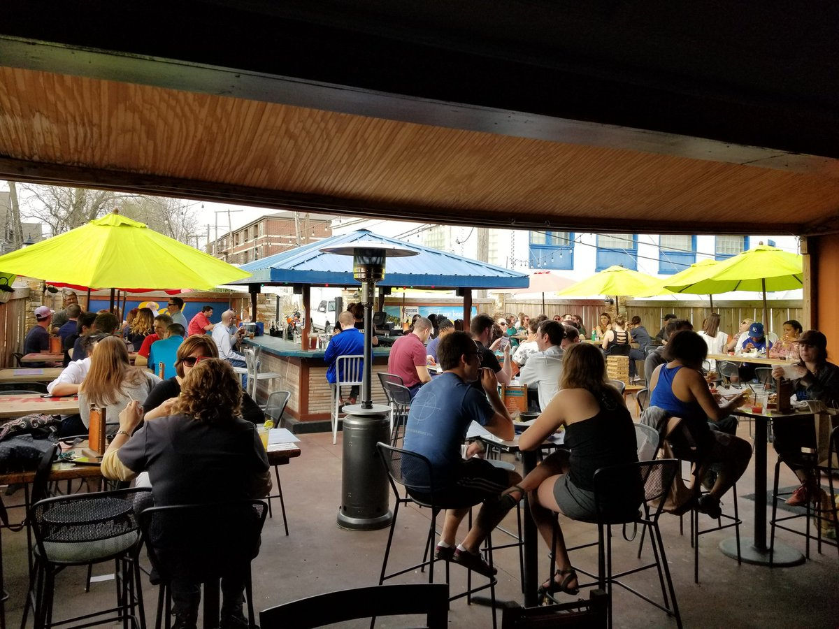 It's patio season.   Sooooo why aren't you here yet?