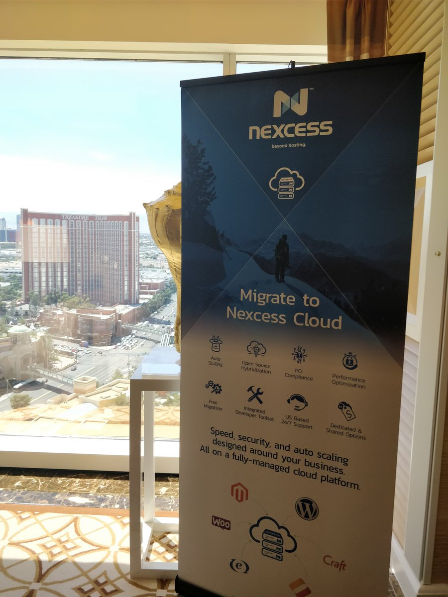 nexcess: Nexcess in the Tower Suite. Drop by booth #122 for a demo of the Nexcess Cloud. #MagentoImagine #Cloud https://t.co/so4riOZh4x