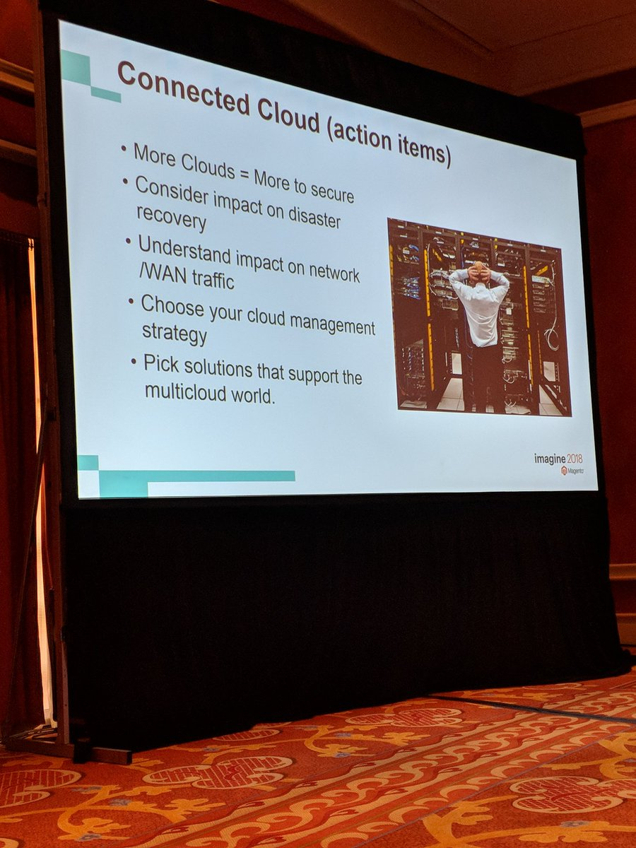 kensium: Action items when considering #Multicloud #MagentoImagine https://t.co/VmDtr1R63F