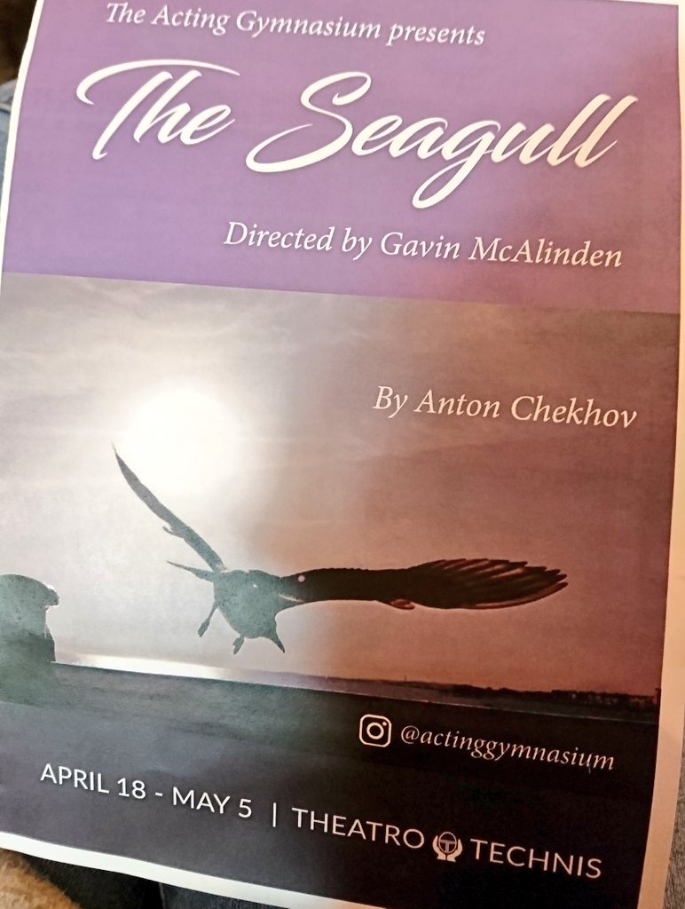 test Twitter Media - First time seeing Chekhov's The Seagull tonight... https://t.co/k8JxdmeCOS