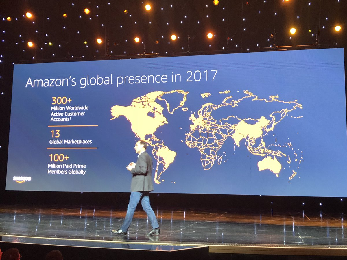 alexanderdamm: Amazon's global presence in 2017 #amazon #MagentoImagine https://t.co/Wi4NuGslRN